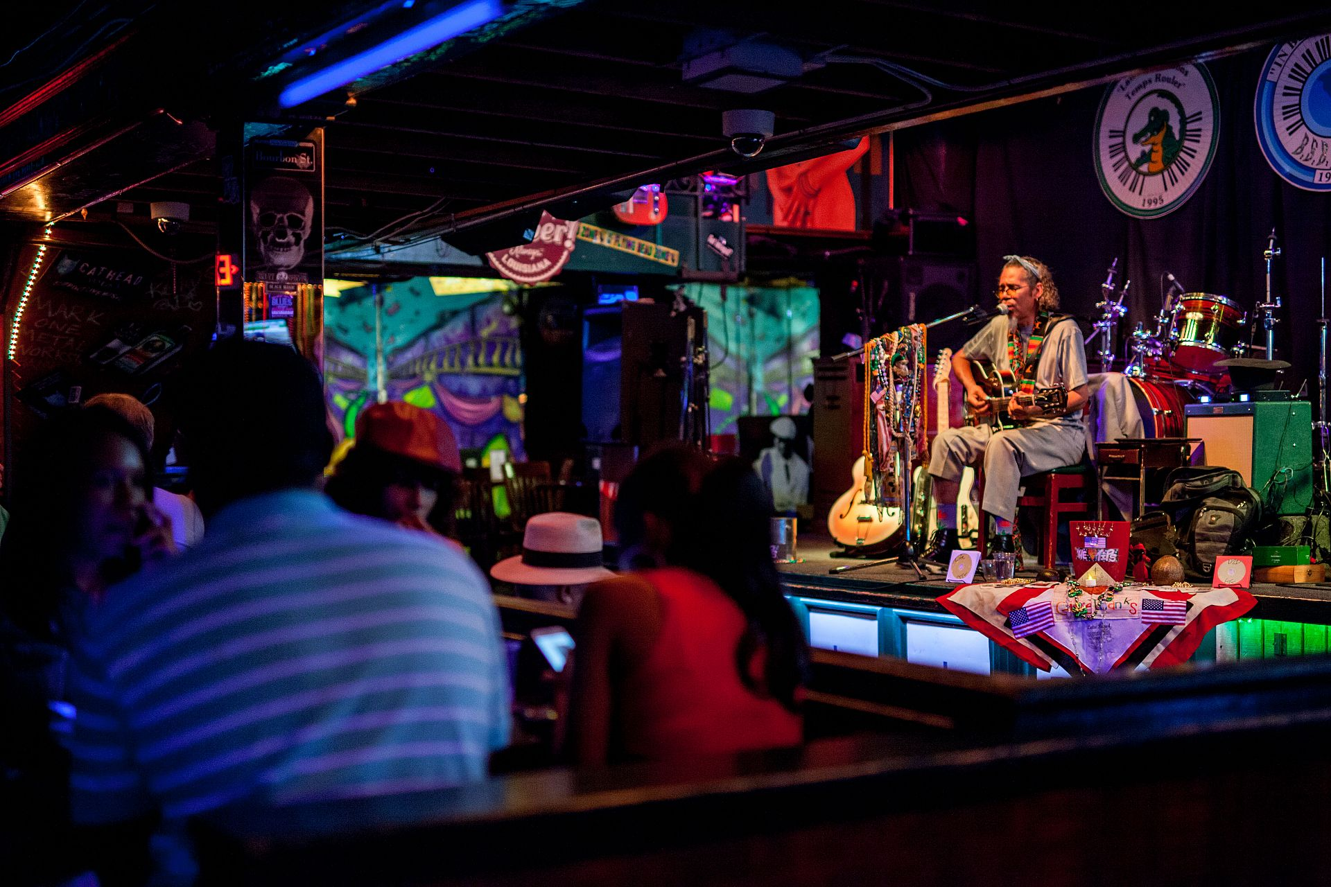 Live Music at Bourbon Street Blues and Boogie Bar