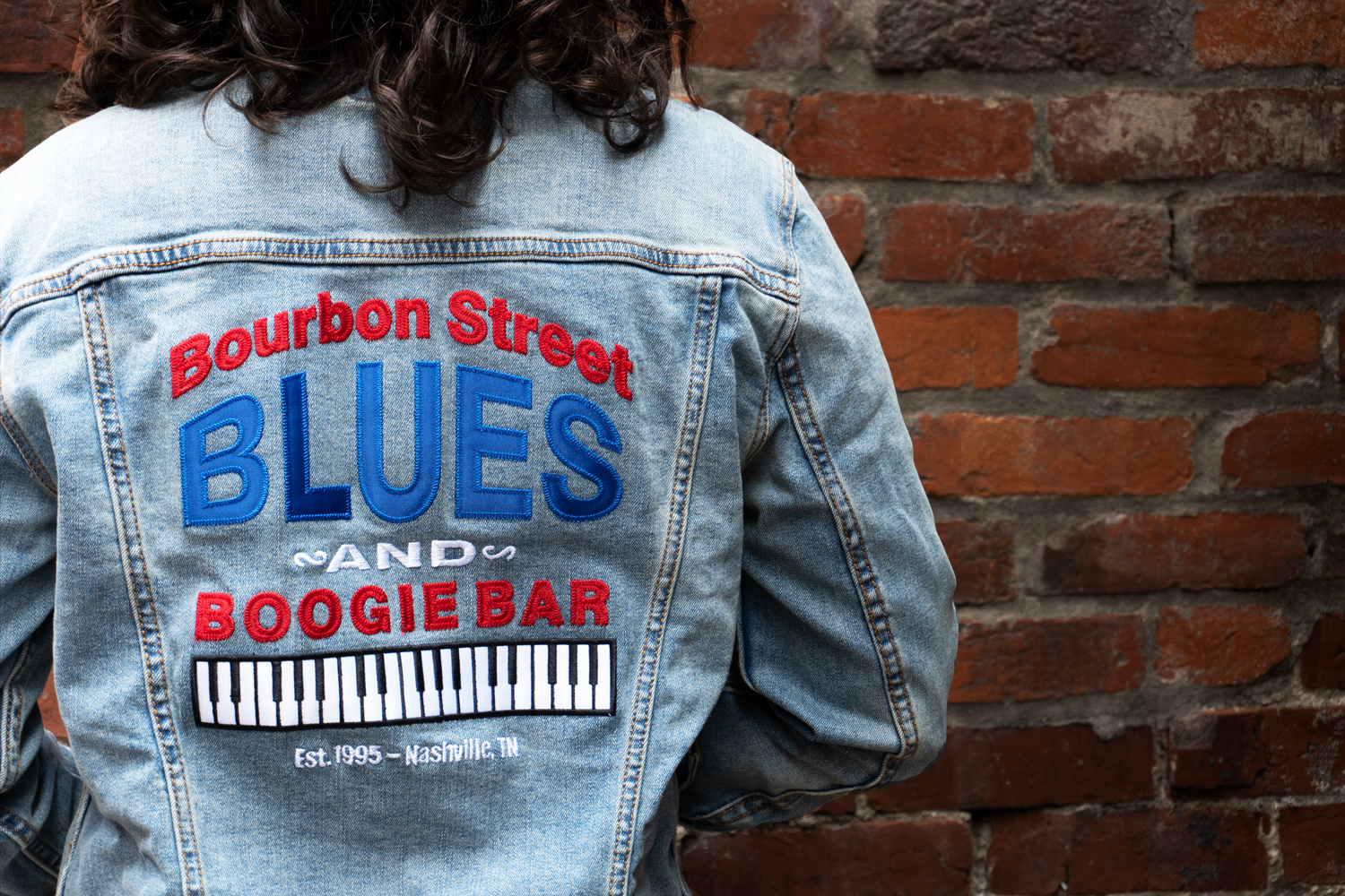 Bourbon Street Blues and Boogie Bar's 25th Anniversary Denim Jacket