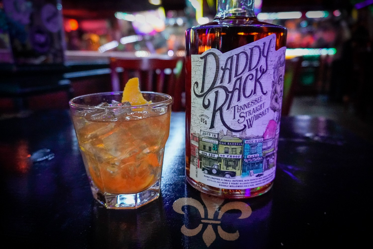 Seasonal Old Fashioned Drink @ Bourbon Street Blues and Boogie Bar